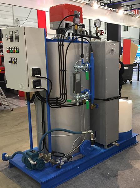 парогенератор 340 kg/h
